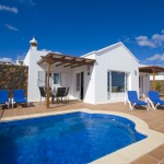 Stunning villa in the old town of Puerto del Carmen  overlooking the harbor