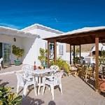villa with pool in Puerto Calero