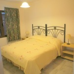 spacious bungalow with private pool and sea views for rent in Tias