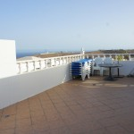 bungalow with private pool and sea views for rent in Tias