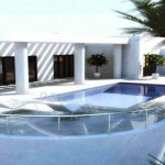 new Villa with sea views in Puerto Calero
